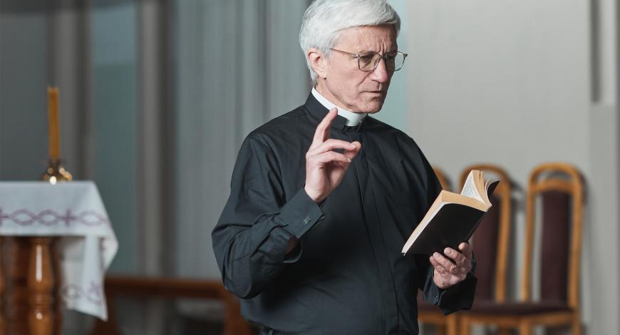 Епископ Болетер на осемдесет години